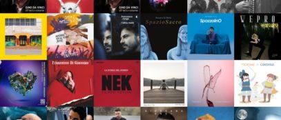 Collage cd covers italia aprile 19 2019