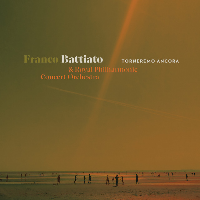 Franco Battiato Torneremo ancora cd cover
